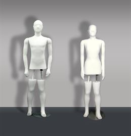 Mannequin Male & Female display figures