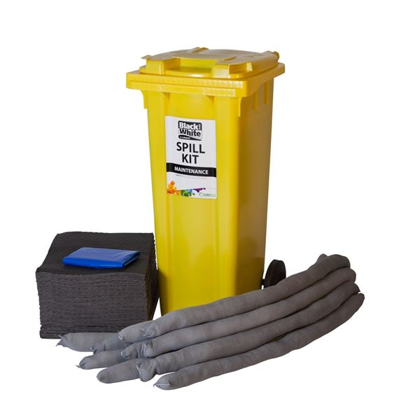Large capacity spill recovery kit