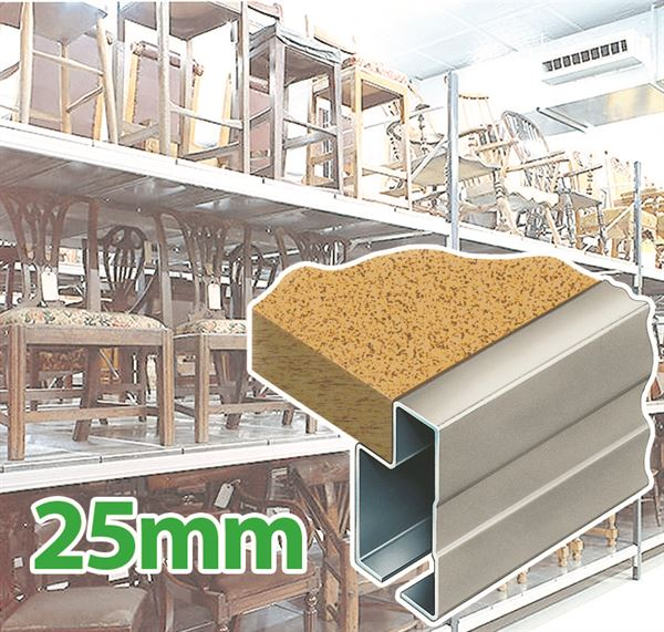 25mm Chipboard Warehouse shelving system