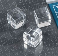 Display identification cubes