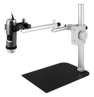 Stand with additional RK-10-EX extension arm fitted (included)