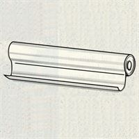 Silicone coated polyester roll