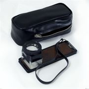 microfilm viewer and case