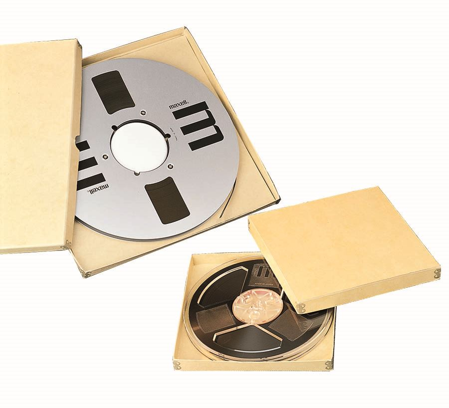 Reel To Audio Tape Boxes
