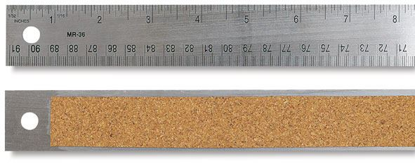 Cork Backed Ruler