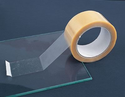 Protection tape for glass shipping