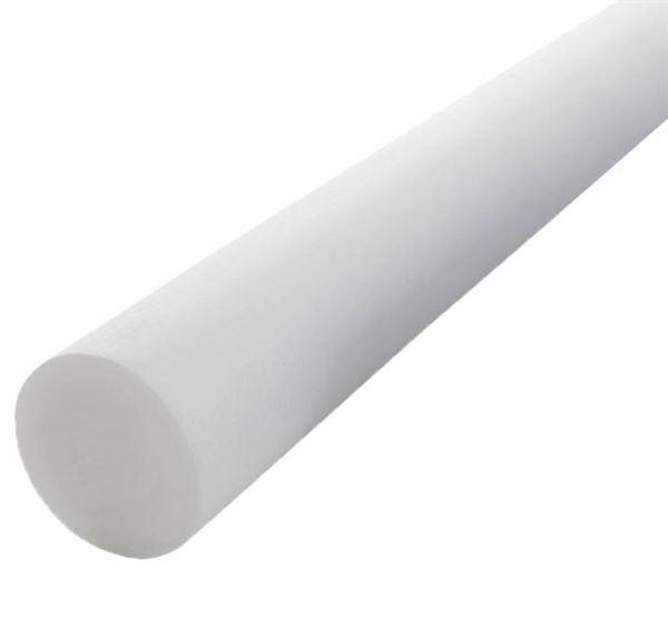 White Polyethylene Foam Rod