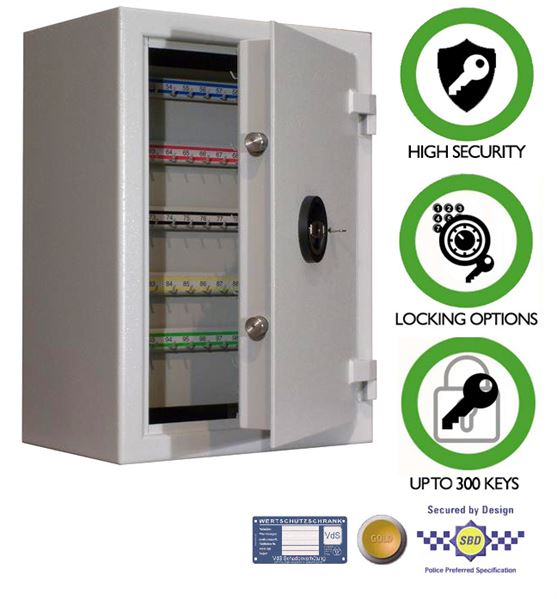 high security key cabinet