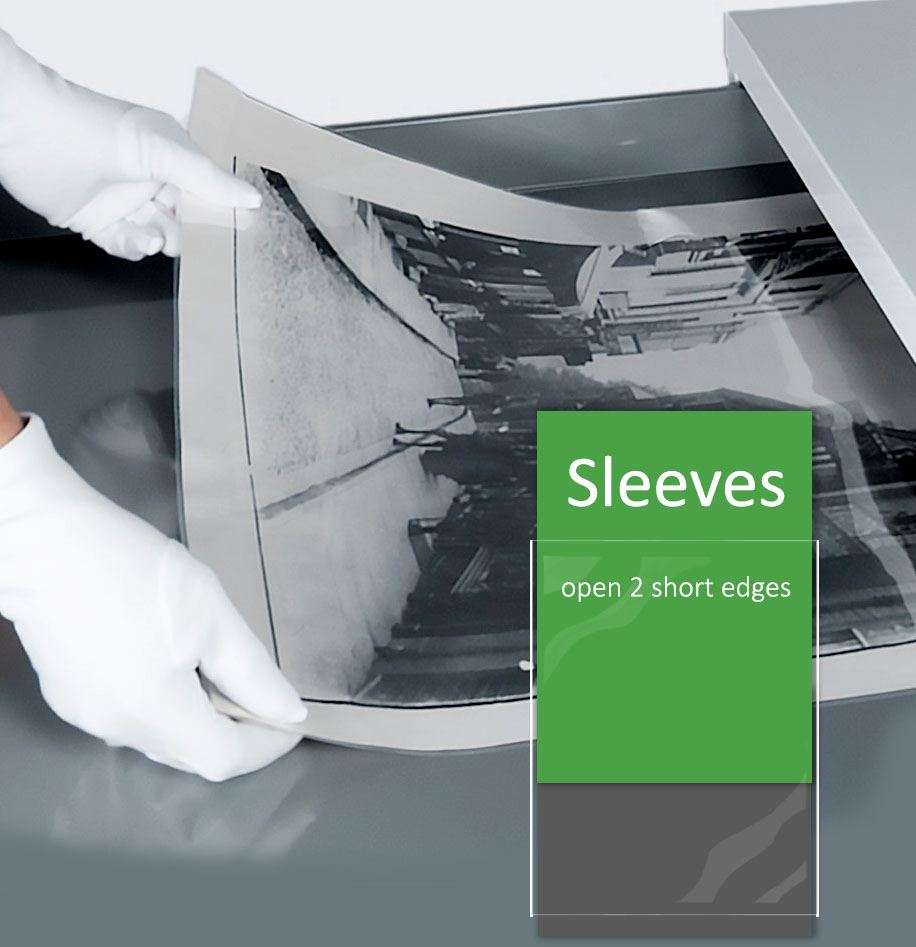 Polyester Clear Sleeves - Preservation Equipment Ltd