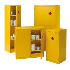 Hazardous Chemical Storage cupbards