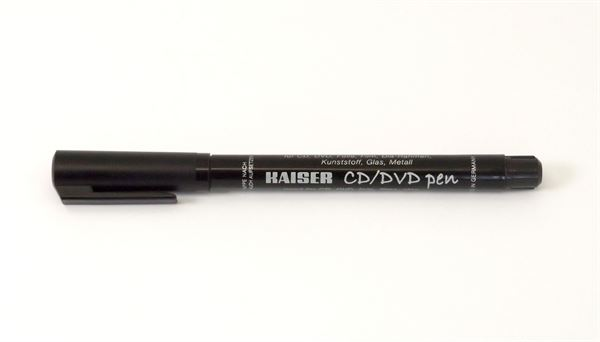 kaiser black permanent pen