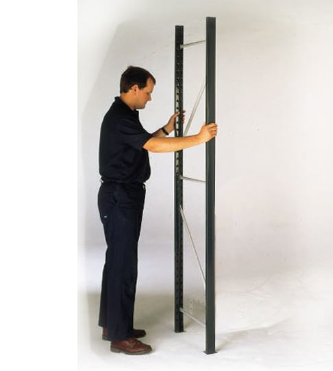 Shelving system side panel
