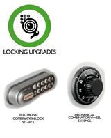 key cabinet locking options 521-5MCL & 521-5ECL