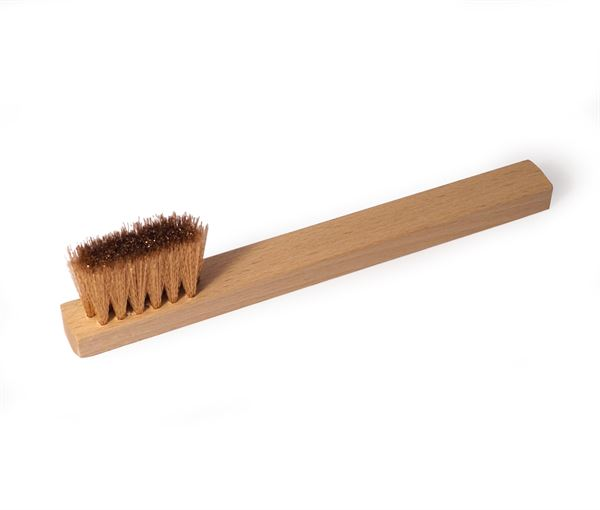 Bronze brush - Toothbrush Shape