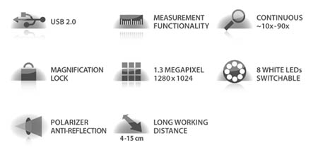 microscope specification