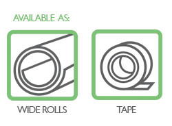 Preservation equipment rolls and tapes